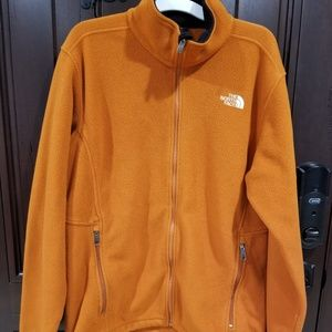 THE NORTH FACE Polartec Jacket Fleece XL Orange